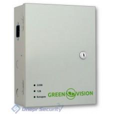 Блок бесперебойного питания GreenVision GV-UPS-H 1218-10A-B