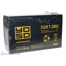 Аккумулятор YOSO 12V 7.2A