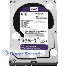 """Жёсткий диск 3.5"""" WD Purple 6TB SATA/64MB"""