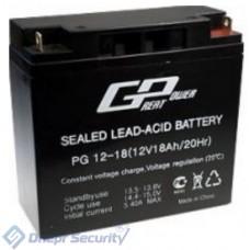 Аккумулятор Great Power 18A 12V