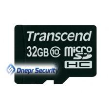 Карта памяти 32Гб Transcend microSDHC
