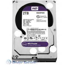 """Жёсткий диск 3.5"""" WD Purple 2TB SATA/64MB"""