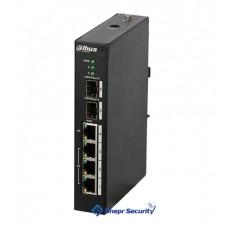 Коммутатор на 4 PoE канала DH-PFS4206-4P-120