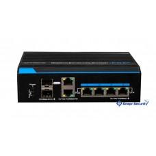 Коммутатор на 4 PoE порта UTP7204GE-HPOE