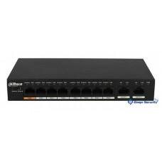 Коммутатор на 8 каналов PoE Dahua DH-PFS3010-8ET-96