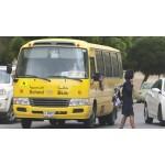 Камеры видеонаблюдения Hikvision в школьных автобусах Дубая