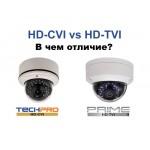 Что такое CVBS и HD-TVI? В чем отличие?
