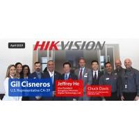 Посещение компании Hikvision в США американским конгрессменом
