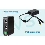 В чем разница между инжектором PoE и сплиттером PoE?