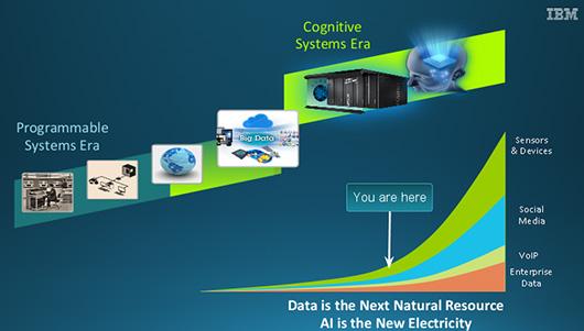 Схема развития IT-сферы от IBM