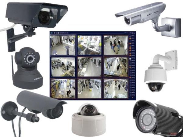 Различные камеры видеонаблюдения