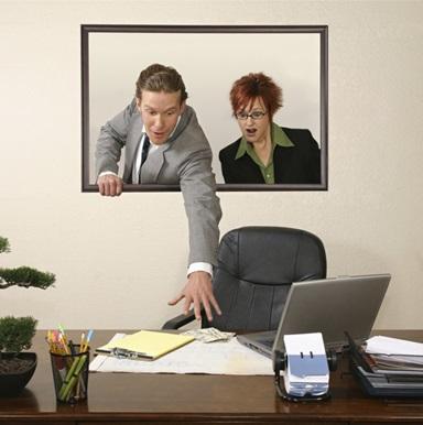 Кражи в офисах