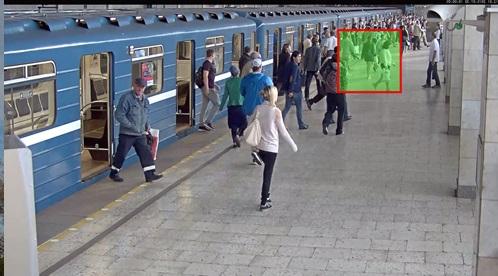 Видеонаблюдение в метро