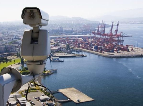 Видеонаблюдение в порту
